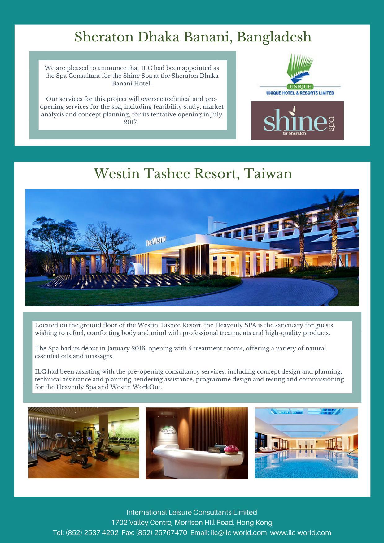Newsletter – International Leisure Consultants Ltd